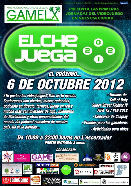 [#ElcheJuega] Cartel definitivo del evento