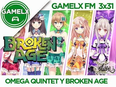 GAMELX FM 3×31 – Omega Quintet, Broken Age y Escape from Cthulhu