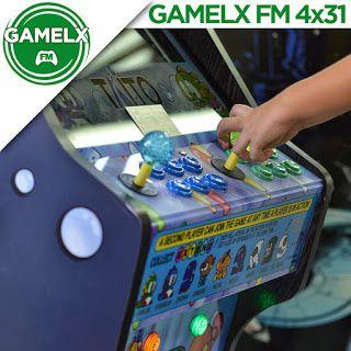 GAMELX FM 4×31 – Aventuras y desventuras en los recreativos