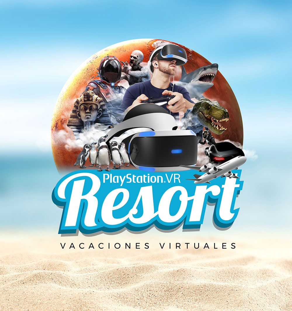 Logo PS VR Resort