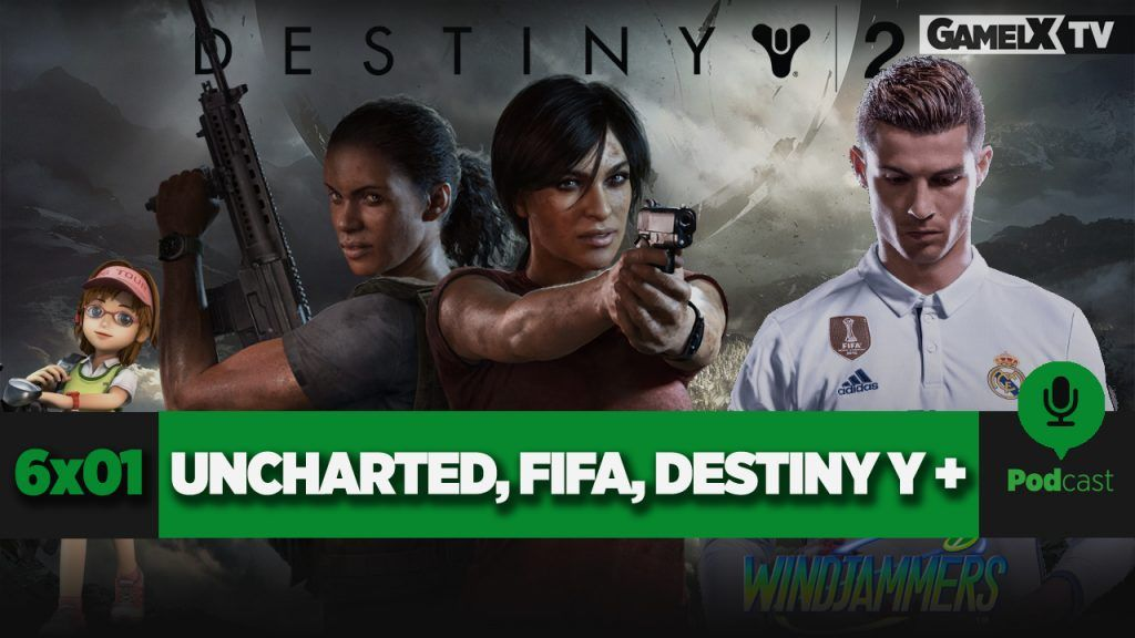 FIFA 18, Uncharted, Destiny 2