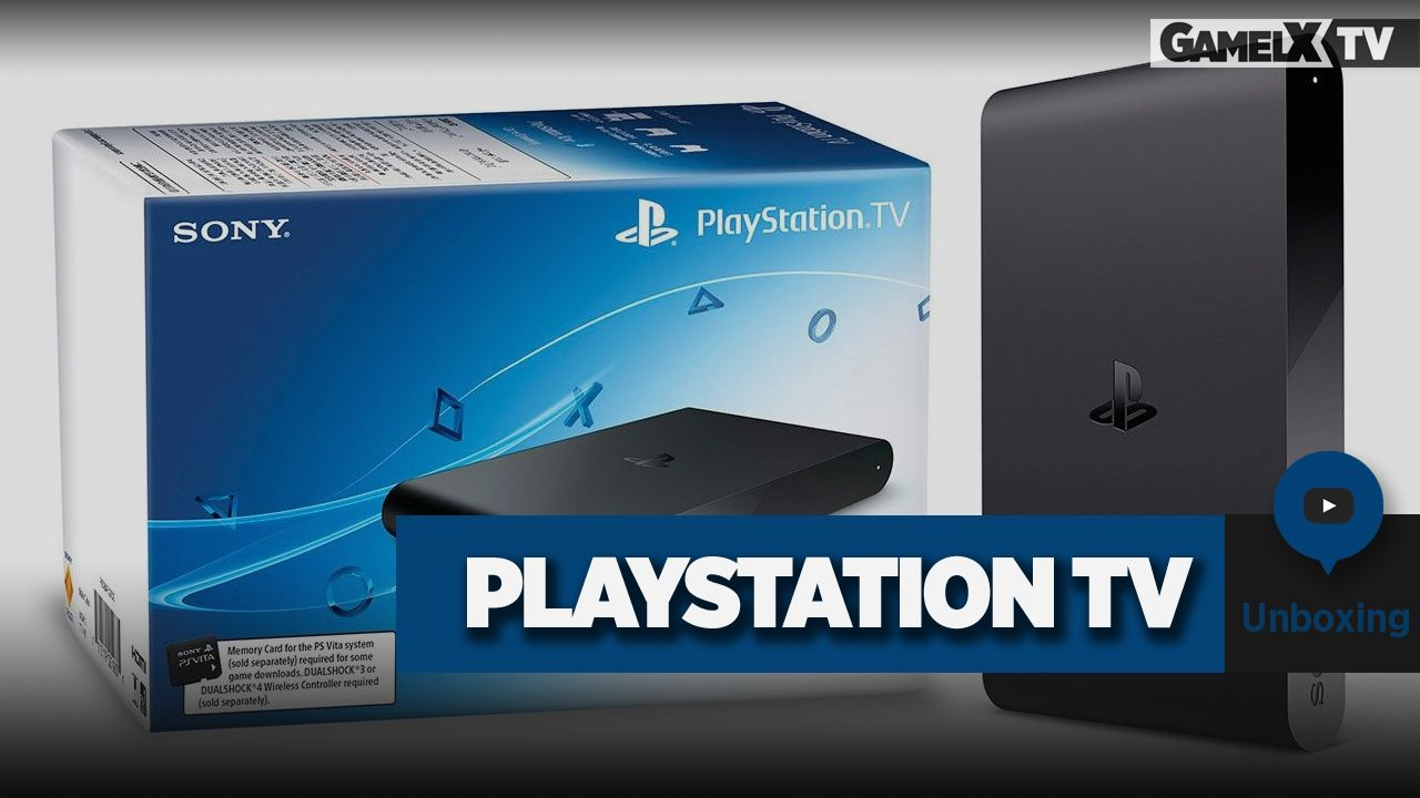 Unboxing Playstation TV