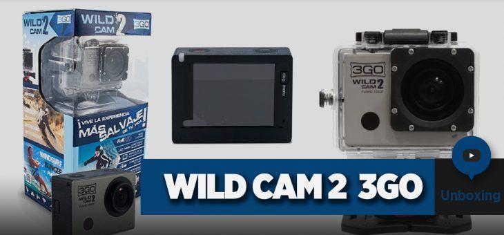 Cámara deportiva Wildcam 2 de 3GO | Unboxing