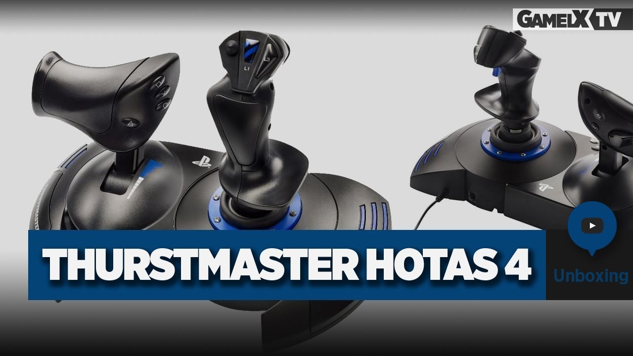 Unboxing Thrustmaster Hotas 4