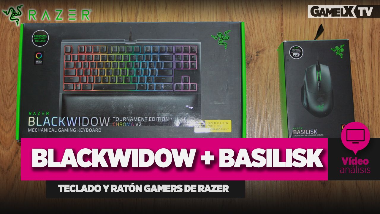 Análisis Razer Blackwidow Basilisk