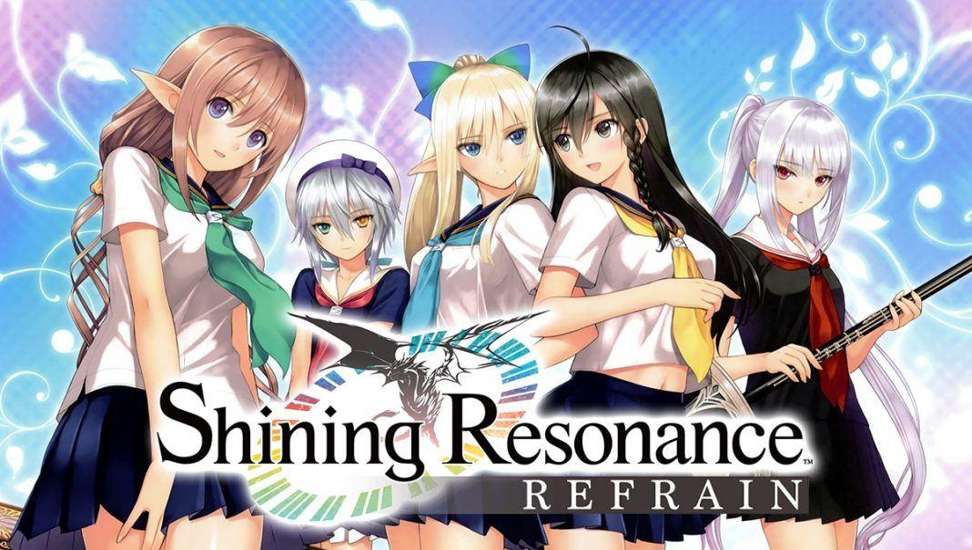 Shining Resonance Refrain Logo Comunidad Xbox