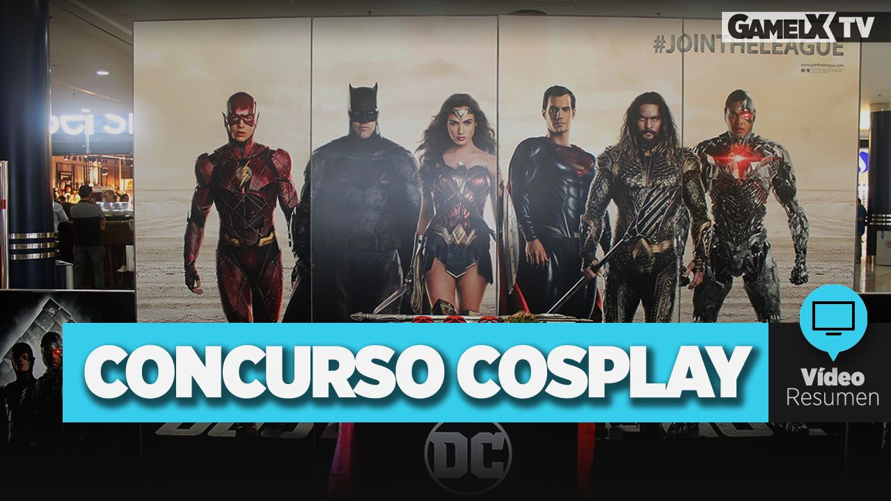 Vídeo resumen Concurso Cosplay DC