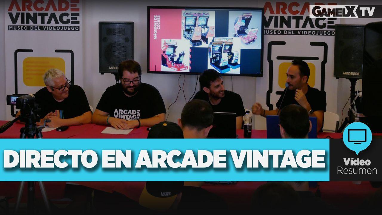 programa presencial en arcade vintage