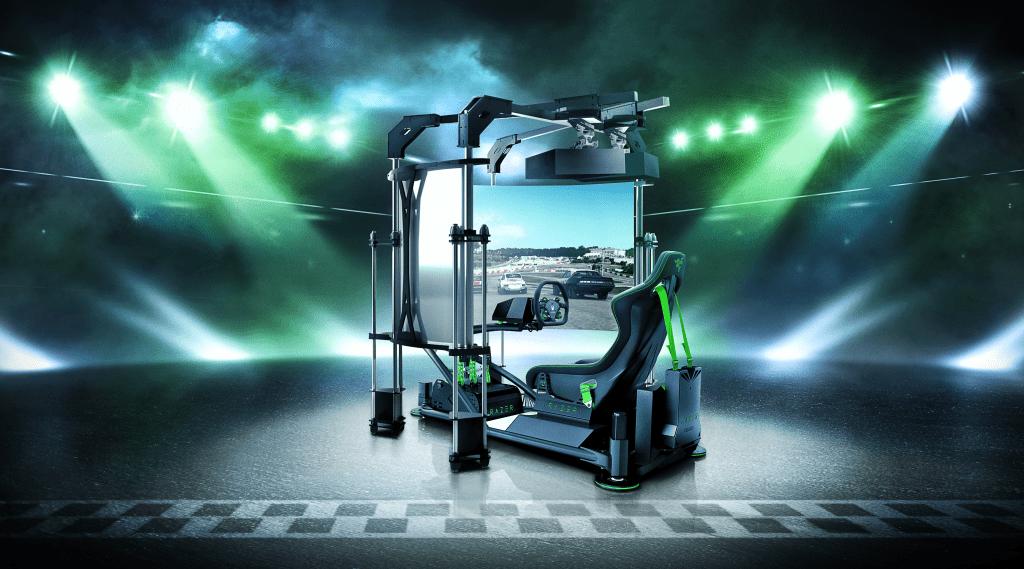 simulador eRacing Razer