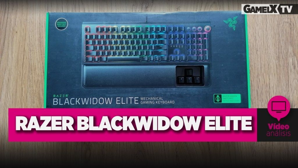 análisis razer blackwidow elite