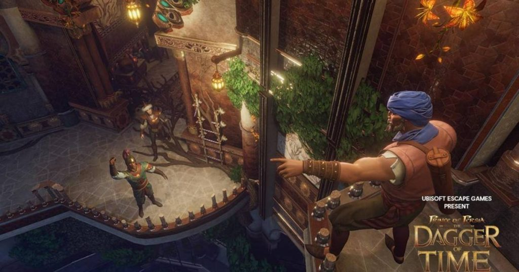 escape room en vr de prince of persia