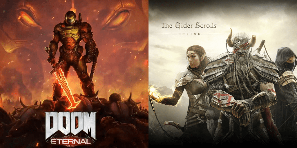 Doom Eternal y The Elder Scroll