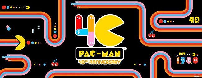 40 años de pac-man