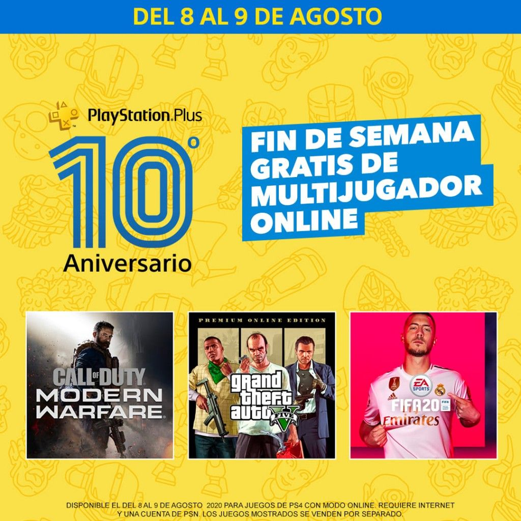 decimo aniversario PlayStation Plus GRATIS