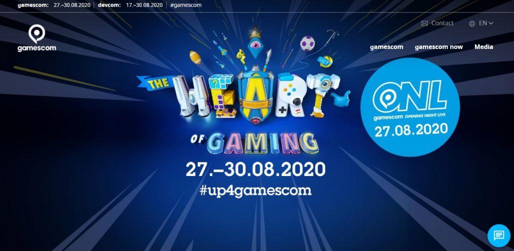 cobertura gamescom 2020