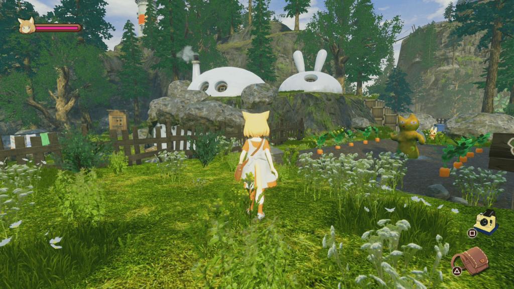 giraffe and annika videojuego min
