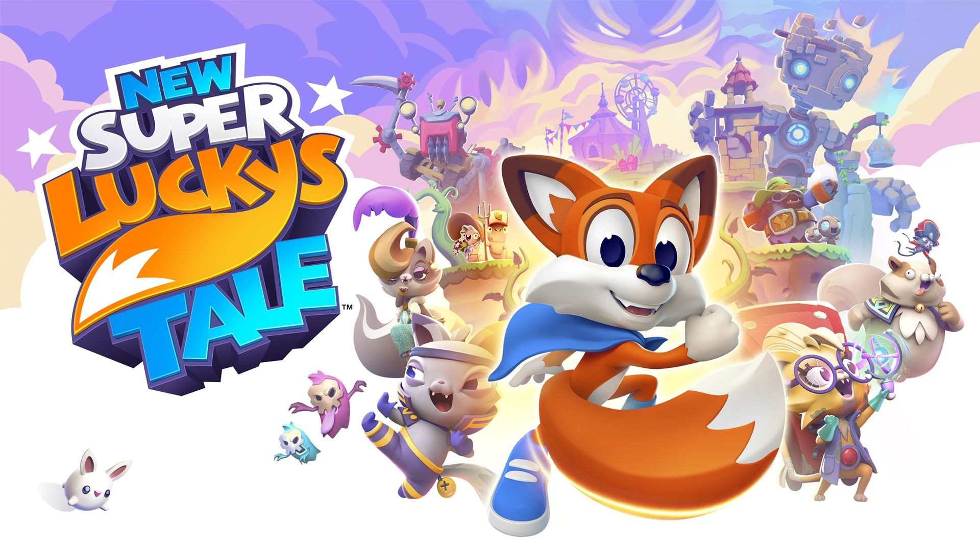 new super lucky's tale ya disponible en formato físico para playstation 4