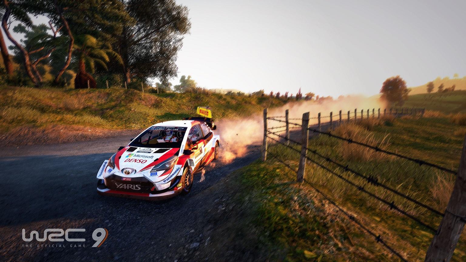 WRC 9 recibe su primera actualización gratuita