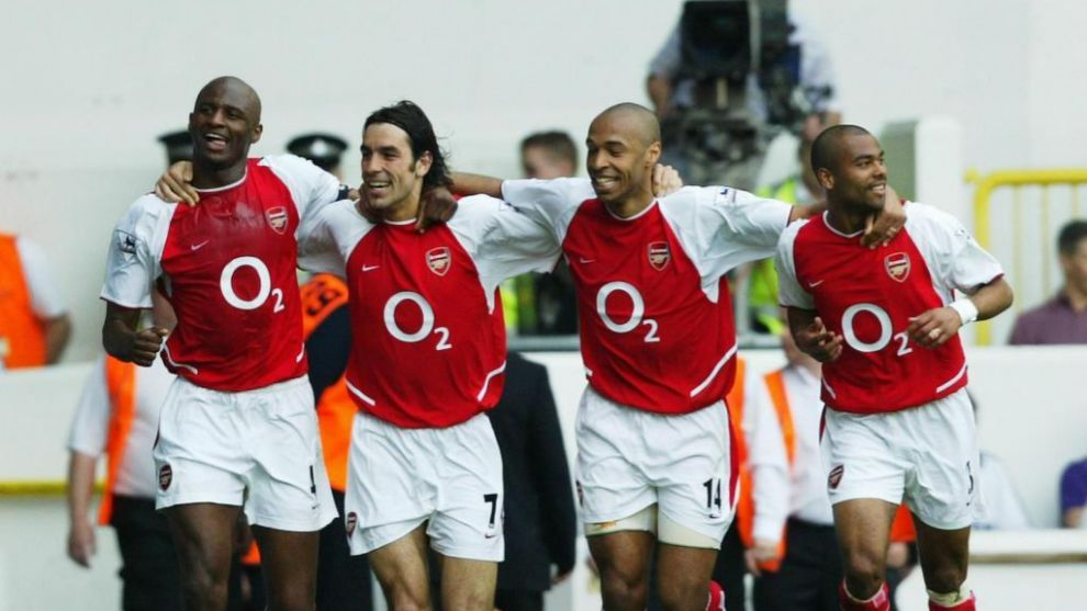 Los invencibles del Arsenal