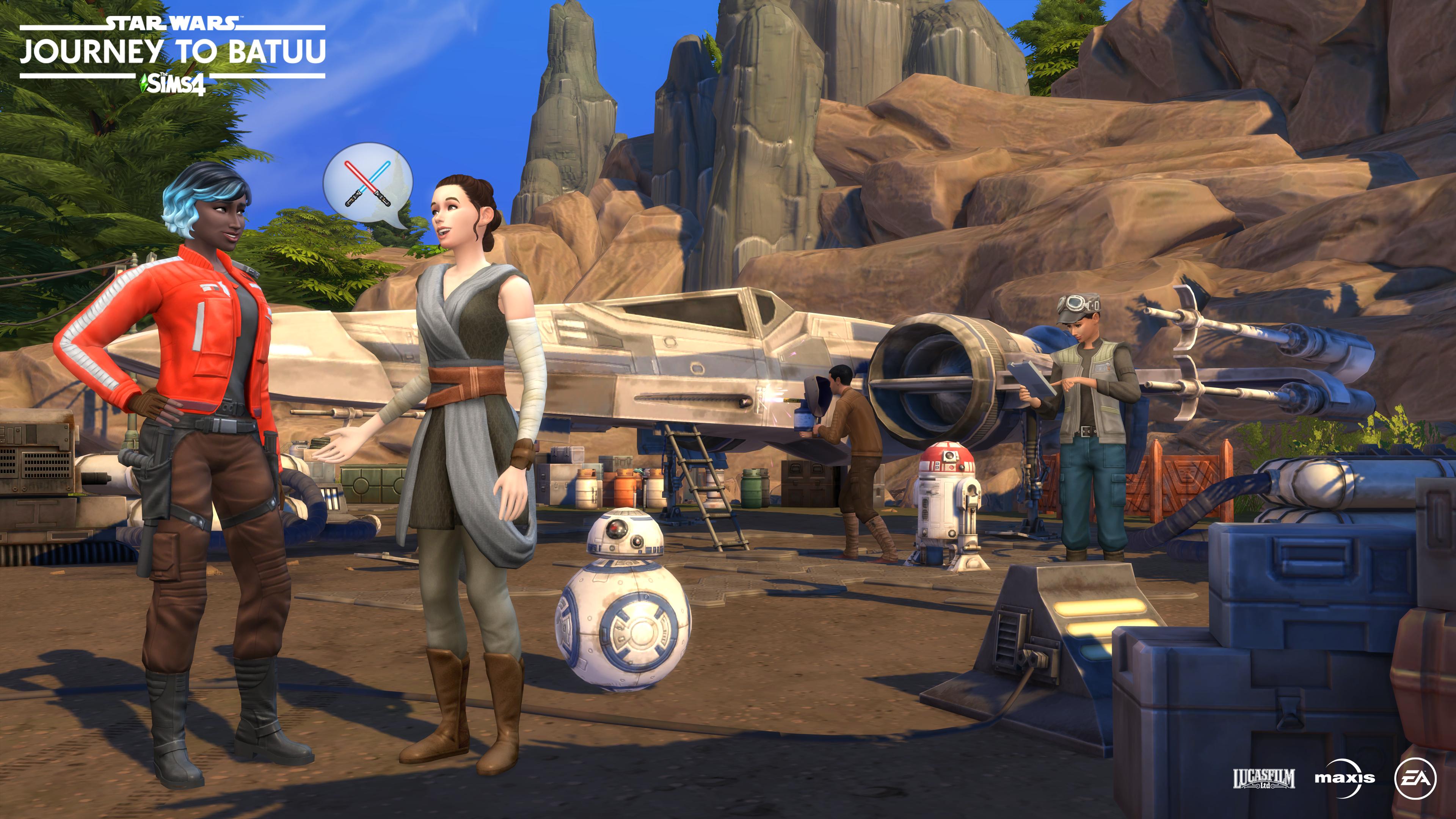 Sims Star Wars Batuu