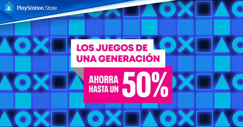PS Store Juegos Generación