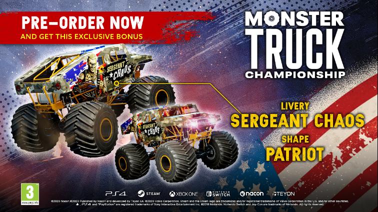 edicion fisica Monster Truck Championship
