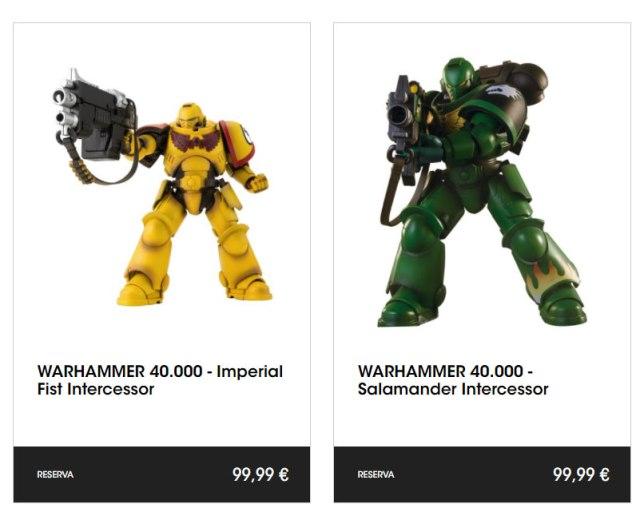 figuras exclusivas de Warhammer 40000