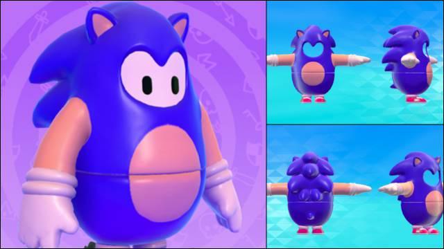 skin de Sonic