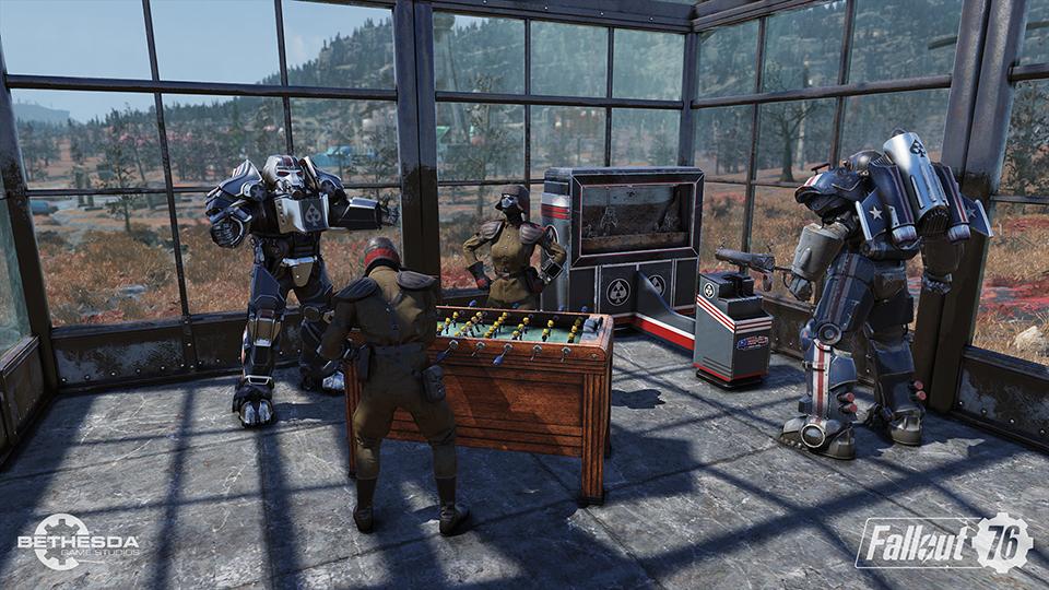 actualización de Fallout 76