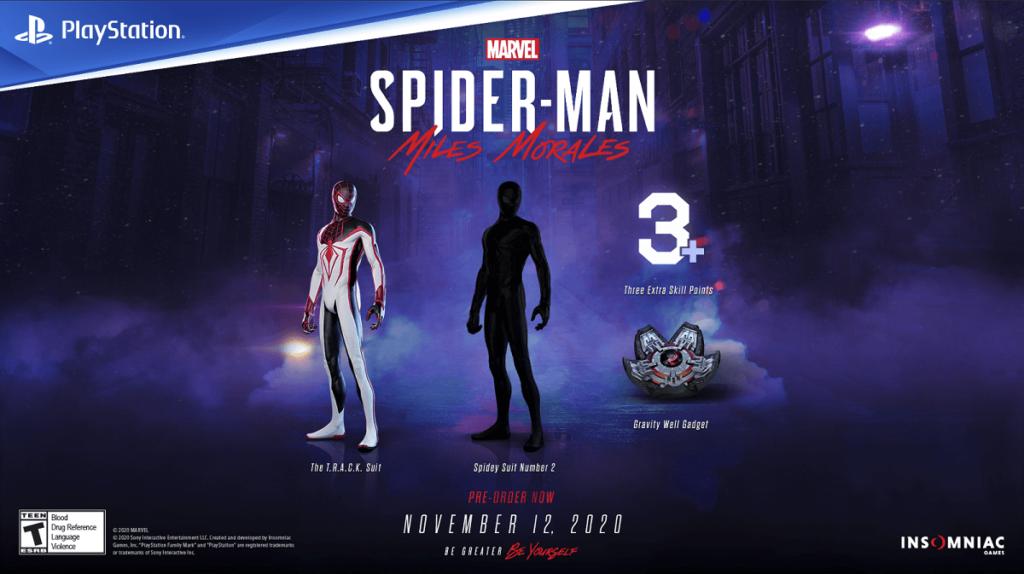 PS Marvels Spiderman Miles Morales Incentivos Digitales