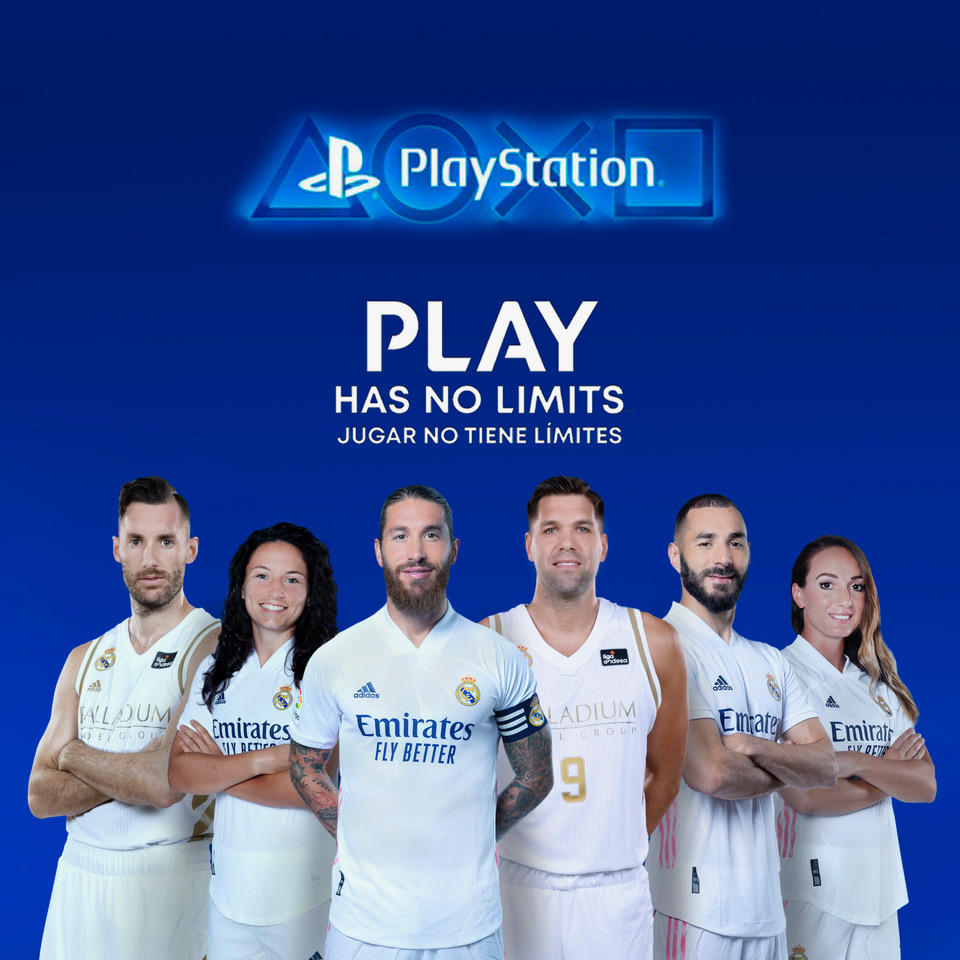 PlayStation y el Real Madrid CF