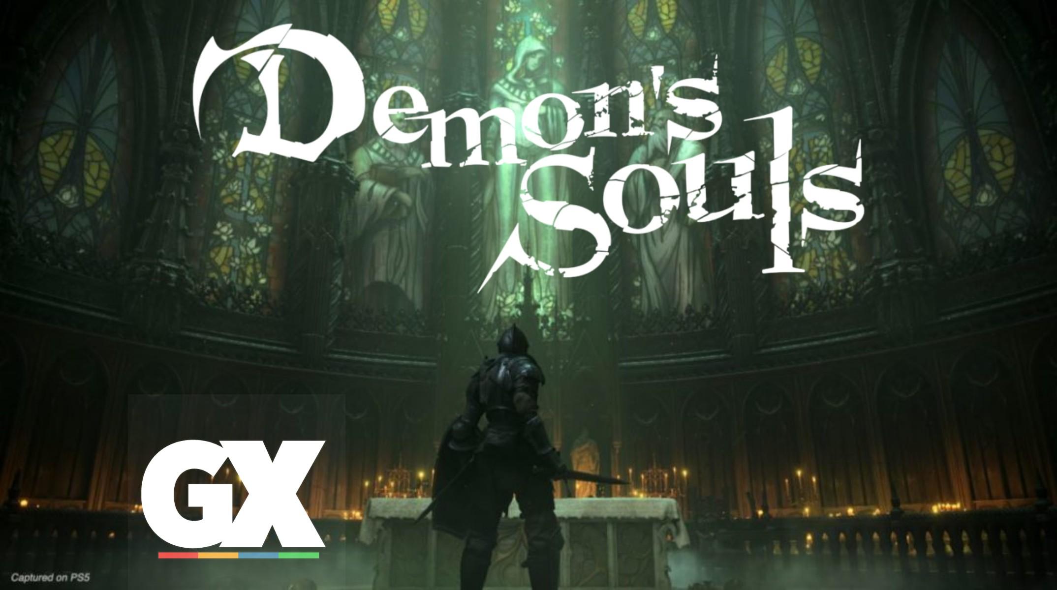 Demon's Souls Remake Gameplay GX