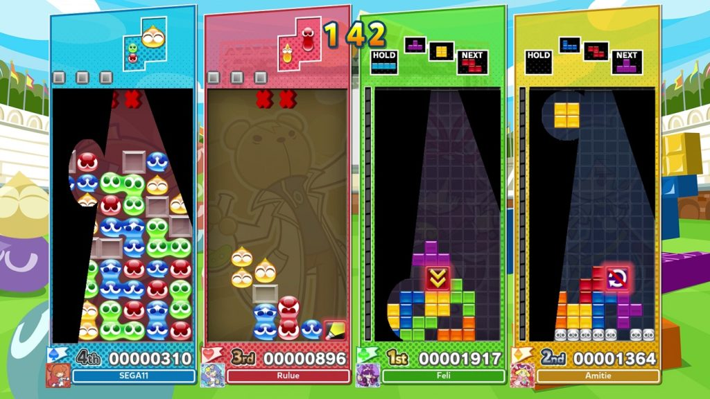 Puyo Puyo Tetris 2 Online nintendo switch