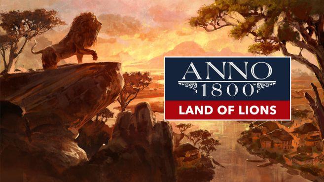 ANNO 1800 Tierra de Leones