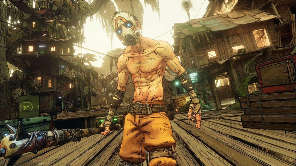 borderlands Personajes de videojuegos con mascarilla