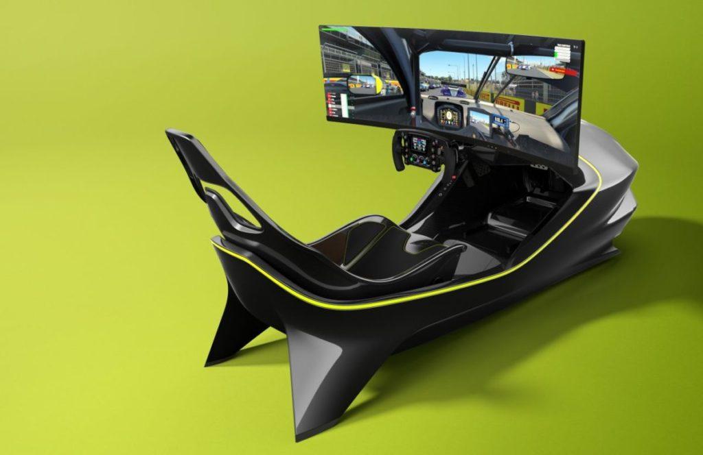 simulador de carreras AMR-C01