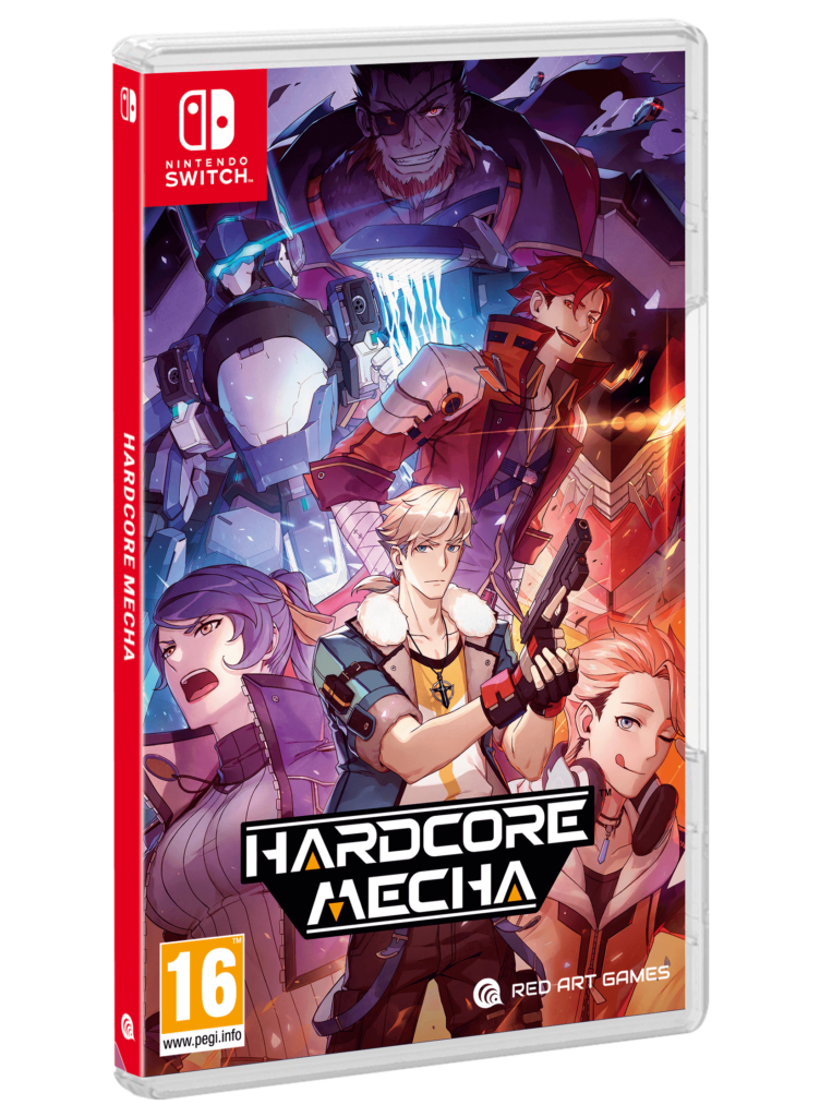 hardcore mecha nintendo switch