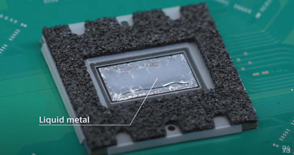 PS5 componentes