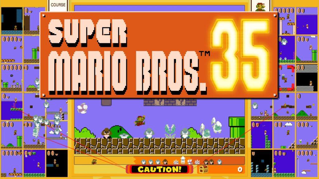 Super Mario Bros. con 35 jugadores