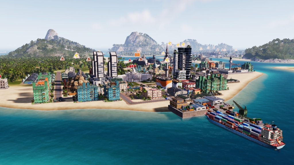 5. Tropico 6 Nintendo Switch Edition