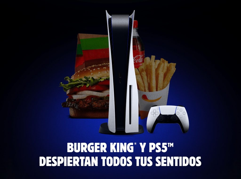 Burger King España y Sony Interactive Entertainment España vuelven a colaborar.