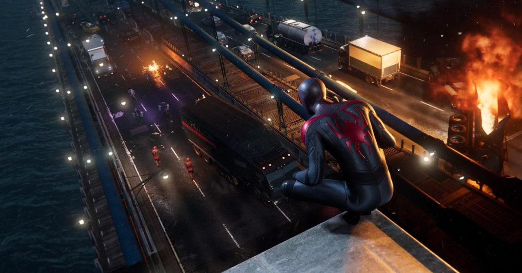 Trailer Marvel's Spider-Man: Miles Morales azotea