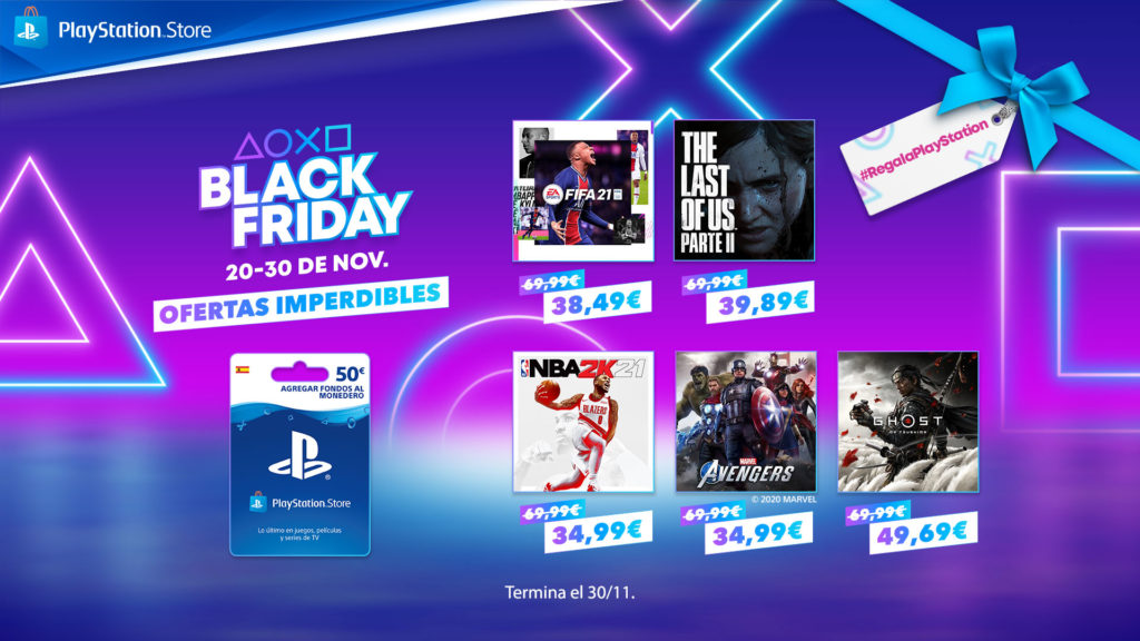 Black Friday de PlayStation