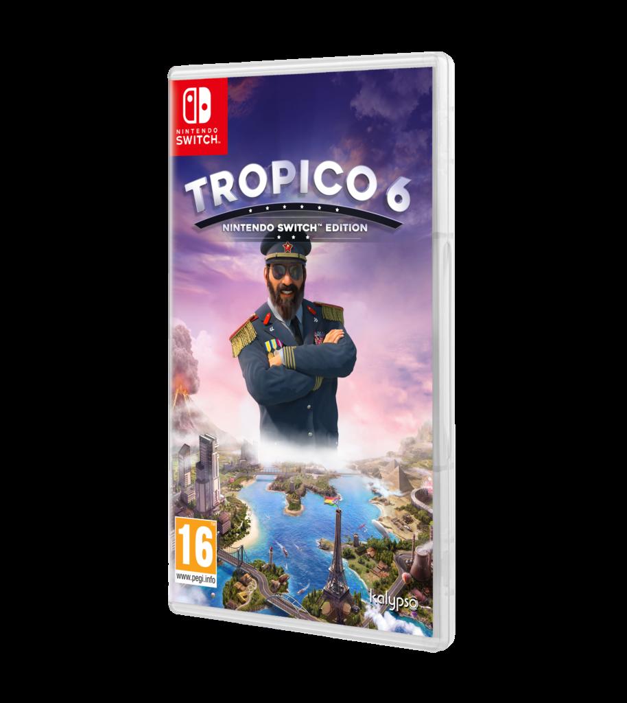 carátula Tropico 6 Nintendo Switch