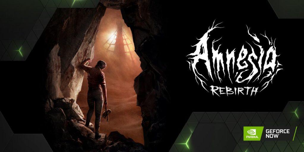 Amnesia: Rebirth en Geforce Now