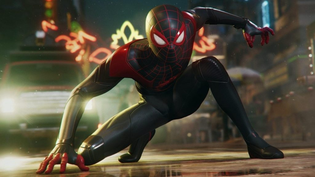 Trailer tráiler Spider-Man: Miles Morales caída personaje