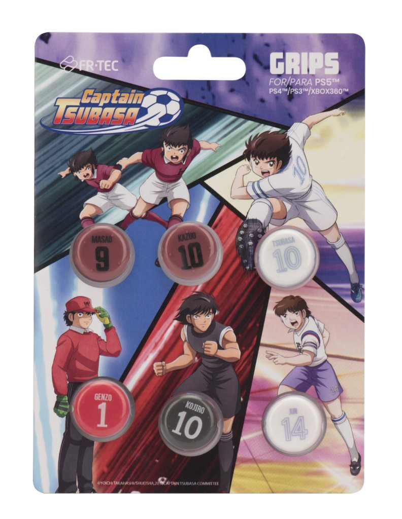 Captain Tsubasa PS4 Grips Set GRIPS IN ORDER4 min