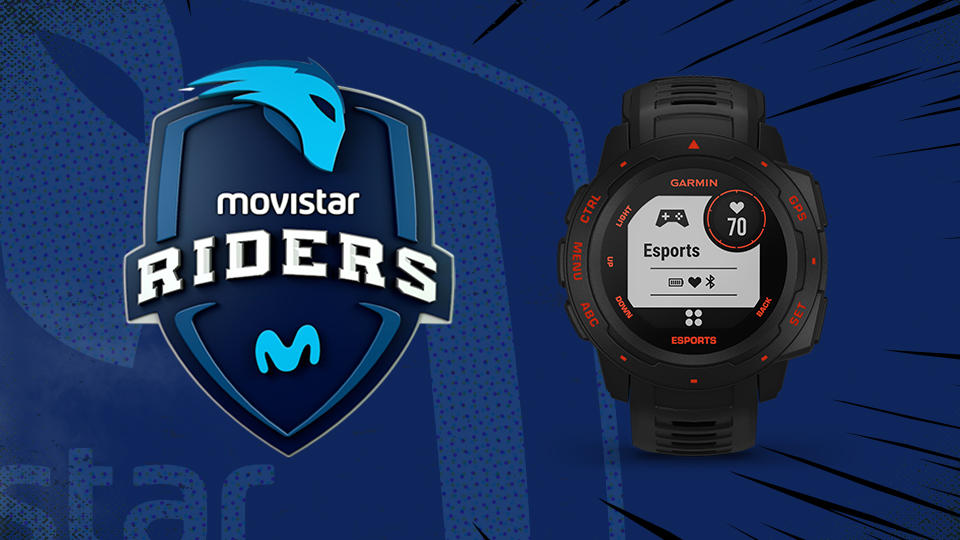 GARMIN Y MOVISTAR RIDERS
