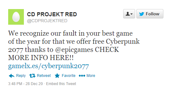 cyberpunk epicgames