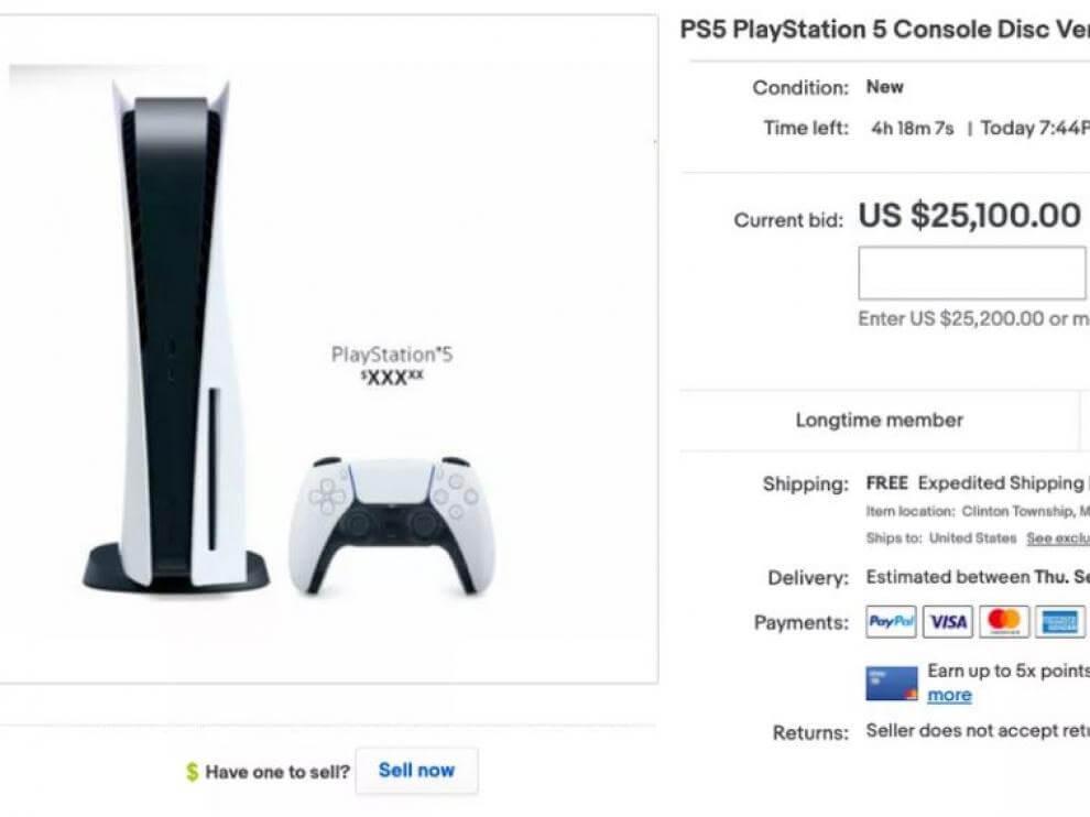 demanda de PS5 y Xbox Series X de segunda mano